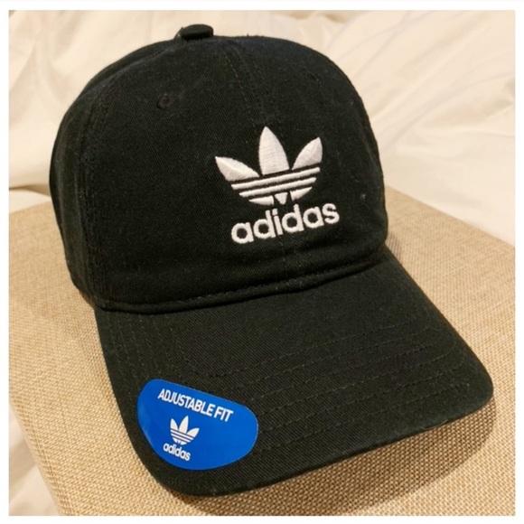 3e4772b2103 Adidas Trefoil Black Cap